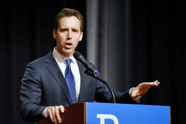 Missouri Attorney General Josh Hawley.