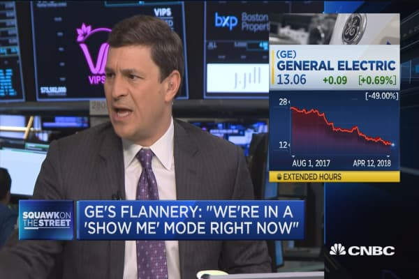 GE's CEO: We're in a 'show me' mode right now