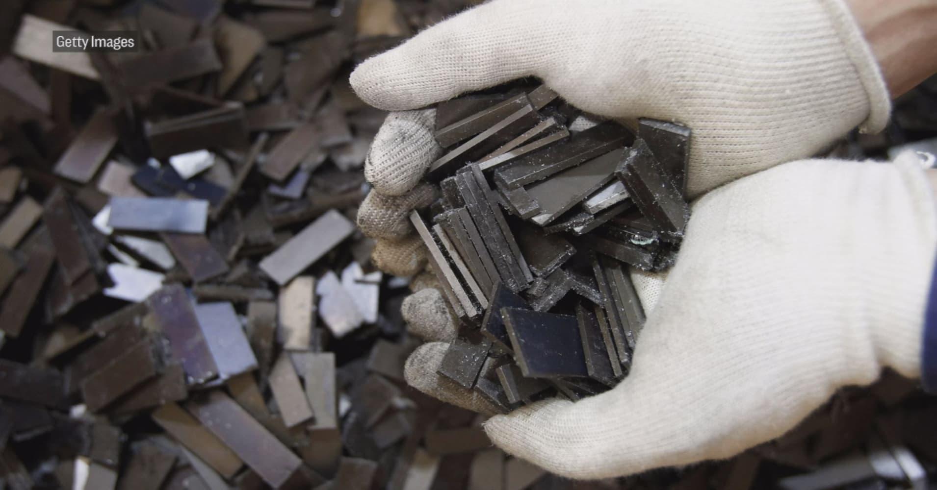 A massive, 'semi-infinite' trove of rare-earth metals has been found in Japan