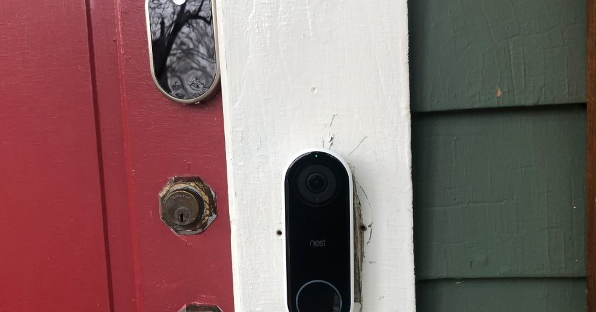 Google Nest Hello Doorbell And Next X Yale Lock Review Thermostat Wiring Ring