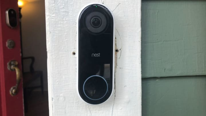 A Camera Keeps An Eye On Your Front Door... When It Works.