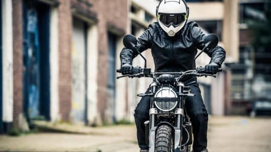 Svartpilen 401 series, part of Husqvarna Motorcycle's 2018 line of street bikes.