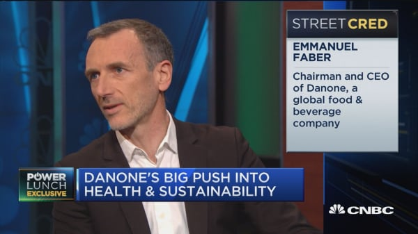 Danone's big push into health, sustainability