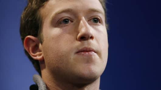 Mark Zuckerberg in January, 2007.