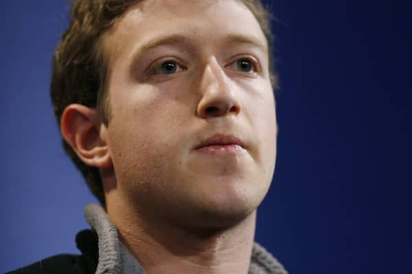 Mark Zuckerberg in January, 2007.