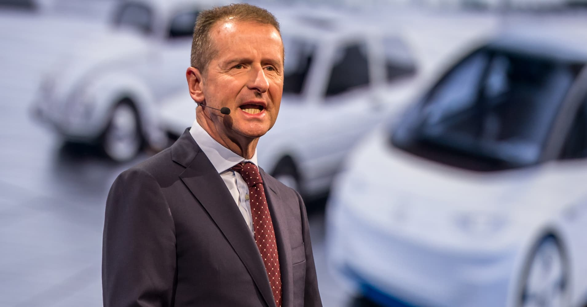 VW CEO says he hopes he's done enough to please Trump and avoid tariffs