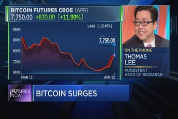 Bitcoin could triple in price by year's end, says Fundstrat's Tom Lee