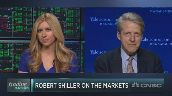 Robert Shiller on the markets, odds of a recession, Bitcoin and more
