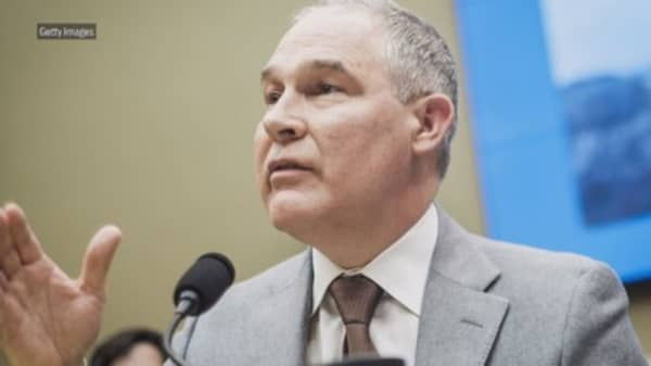 The EPA whistleblower detailed allegations against Scott Pruitt in a pair of letters