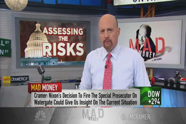 Cramer: If you haven't invested yet, wait for a better, less political entry point