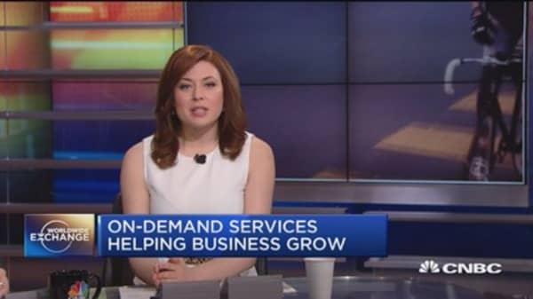 Consumers jump on on-demand services trend