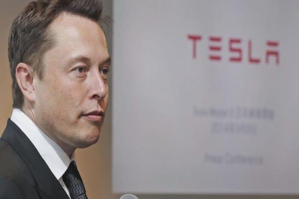 Tesla shares jump after Elon Musk tweets positive guidance