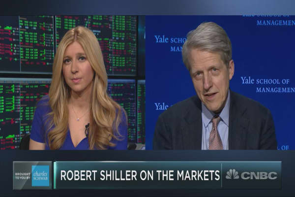 Yale's Robert Shiller: A solid earnings season may not prevent another correction