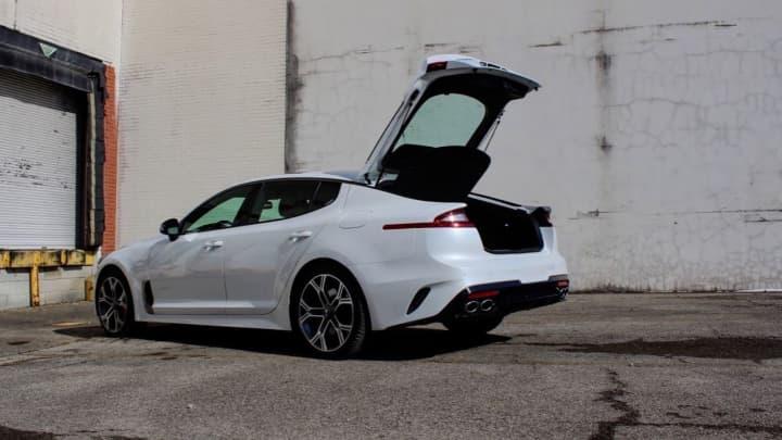The 2018 Kia Stinger GT1