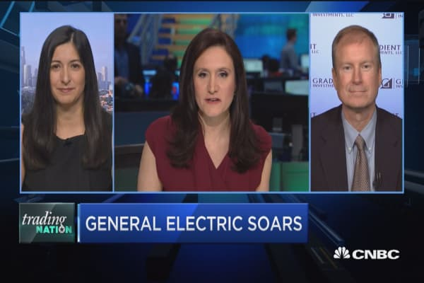 Trading Nation: GE positive for month