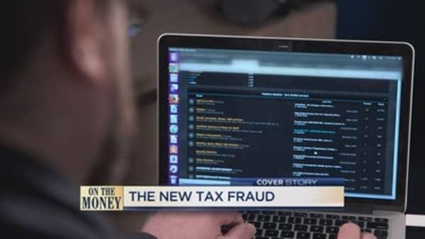 Preparing for tax fraud