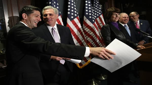 Ryan endorses Kevin McCarthy as House Speaker