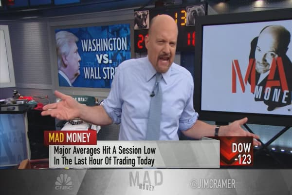 Cramer's game plan: Washington headwinds could overwhelm earnings