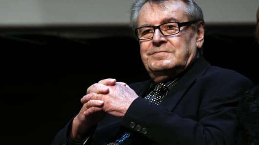 Jury President Milos Forman Attends The Official Awards Ceremony On Day  Of The Th International