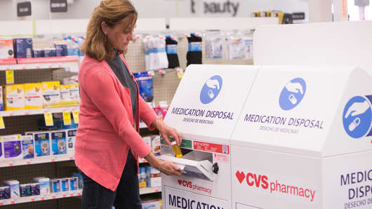 cvs and walgreens add units to get rid of painkillers other medicines