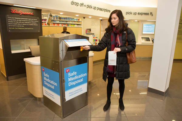CVS and Walgreens locations where you can dispose of medications