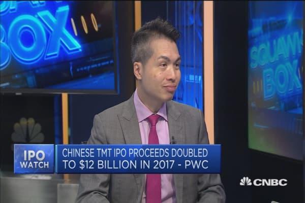 China focused technology firms are increasingly looking at Hong Kong