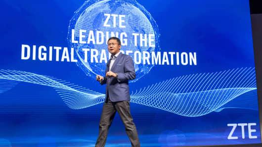 Lixin Cheng, president of ZTE USA Inc.