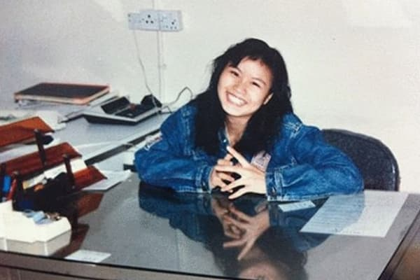 Zhou Qunfei as the factory manager for first employer in Shenzhen, 1991-1992.