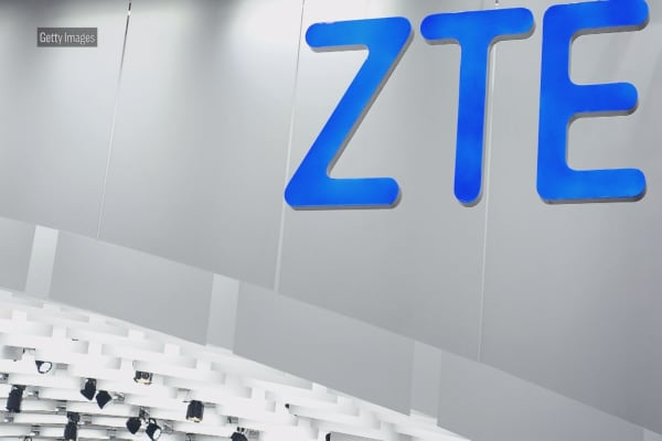 The US bans American companies from doing business with Chinese company, ZTE