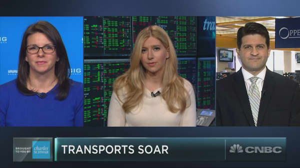 Transport stocks just had their best day in over a month. But can the run continue?