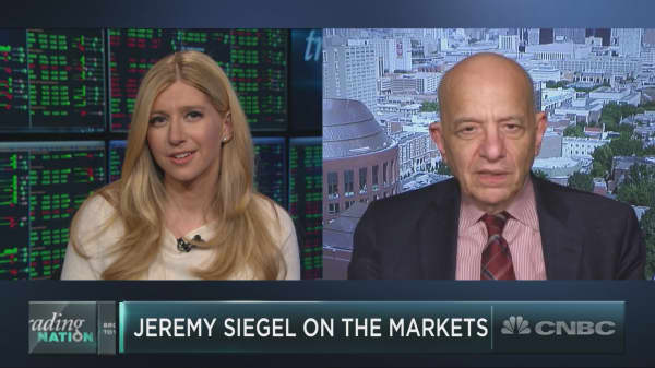 Wharton's Jeremy Siegel warns good earnings and higher rates are on collision course