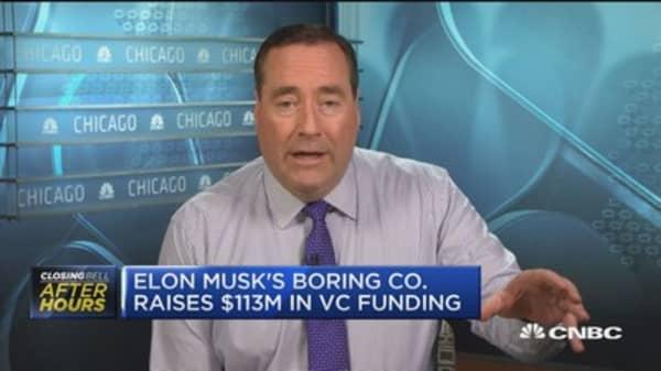 Elon Musk's Boring Co. raises $113 million in venture capital funding