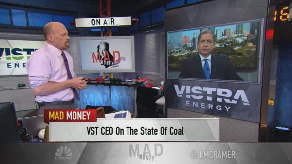 Coal is on its way out, says Vistra Energy CEO as company shuts down coal plants