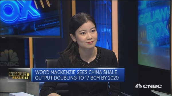 China state-owned energy firms are boosting shale gas output