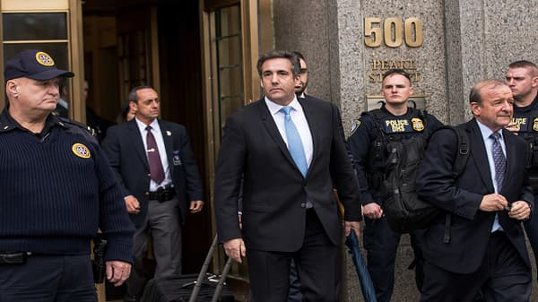 Michael Cohen drama captures White House attention