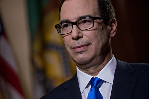 Treasury's Mnuchin: We front-loaded economic growth in tax plan