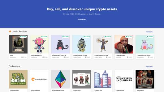 Rare bits, crypto asset market place