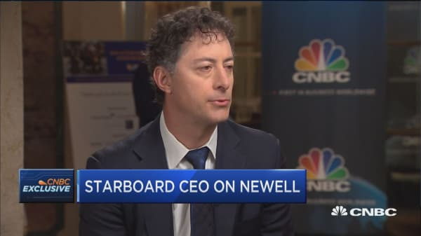 There is incredible value in Newell it is a company with iconic brands: Jeff Smith