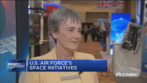 We are expanding defendable space and becoming more lethal: U.S. Air Force Secretary