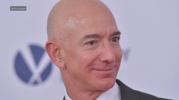Jeff Bezos tweets praise for the Washington Post' Pulitzer Prize win