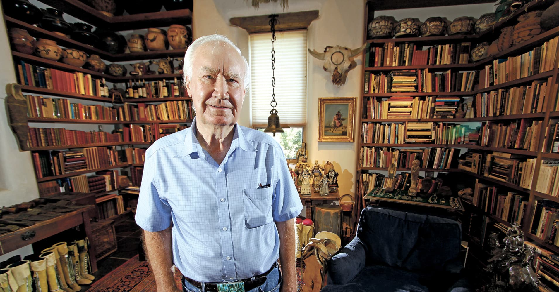 An 87-year-old millionaire buried treasure in the Rockies—and he's offered one main clue
