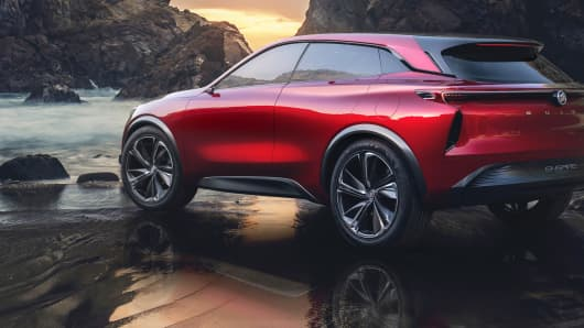 2018 Buick Enspire all-electric concept SUV