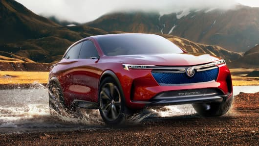 Handout: 2018 Buick Enspire all-electric concept SUV