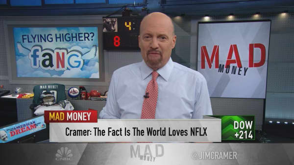 Cramer: Netflix's meteoric rise is helping the rest of FANG