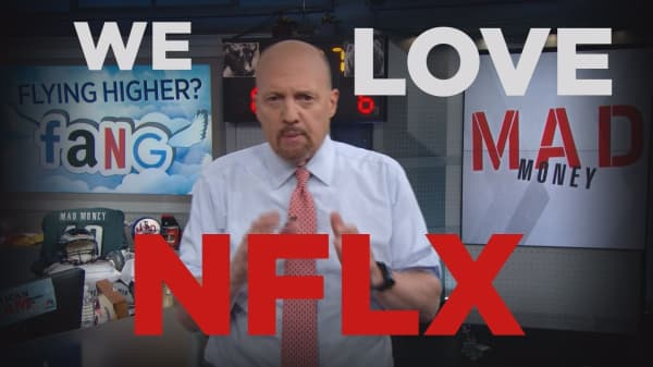 Cramer Remix: Why Netflix is the best-performing stock of 2018 in the S&P 500