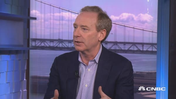 Microsoft Chief Legal Officer Brad Smith on security & dealing with China