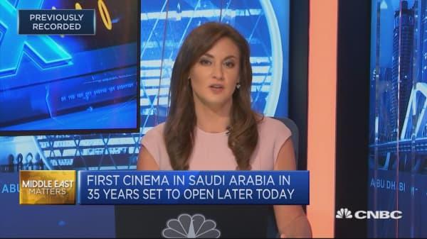 Saudi Arabia reopens its first cinema in 35 years