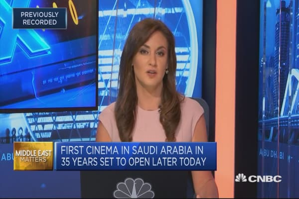 Saudi Arabia reopens its first cinema in 35 years