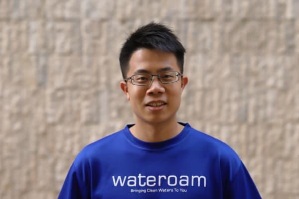 WateRoam co-founder David Pong