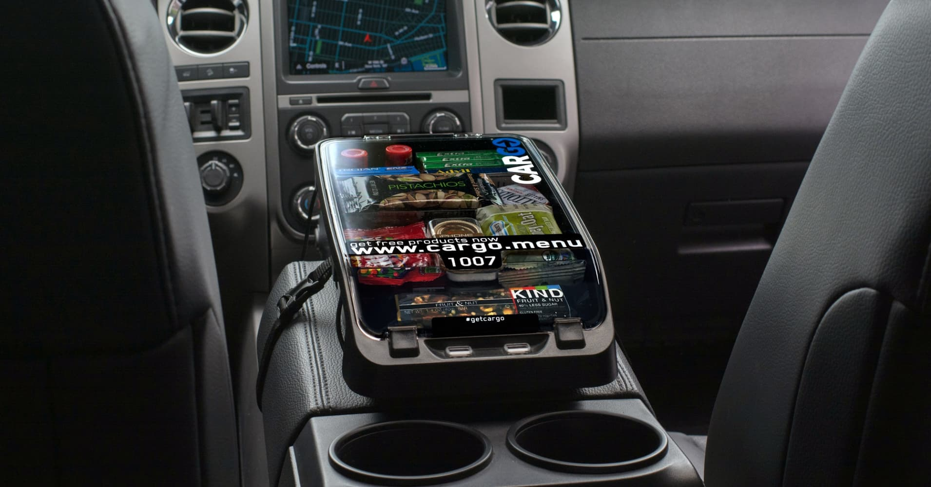 Image result for snacks box in uber cars